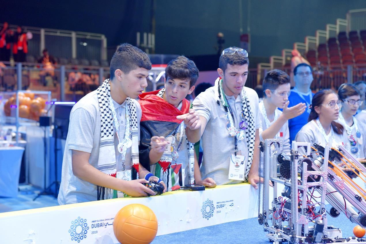 Palestine team (2)
