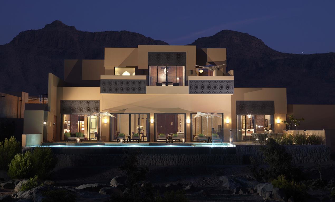Anantara Al Jabal Al Akhdar Resort - Royal Mountain Villa Exterior