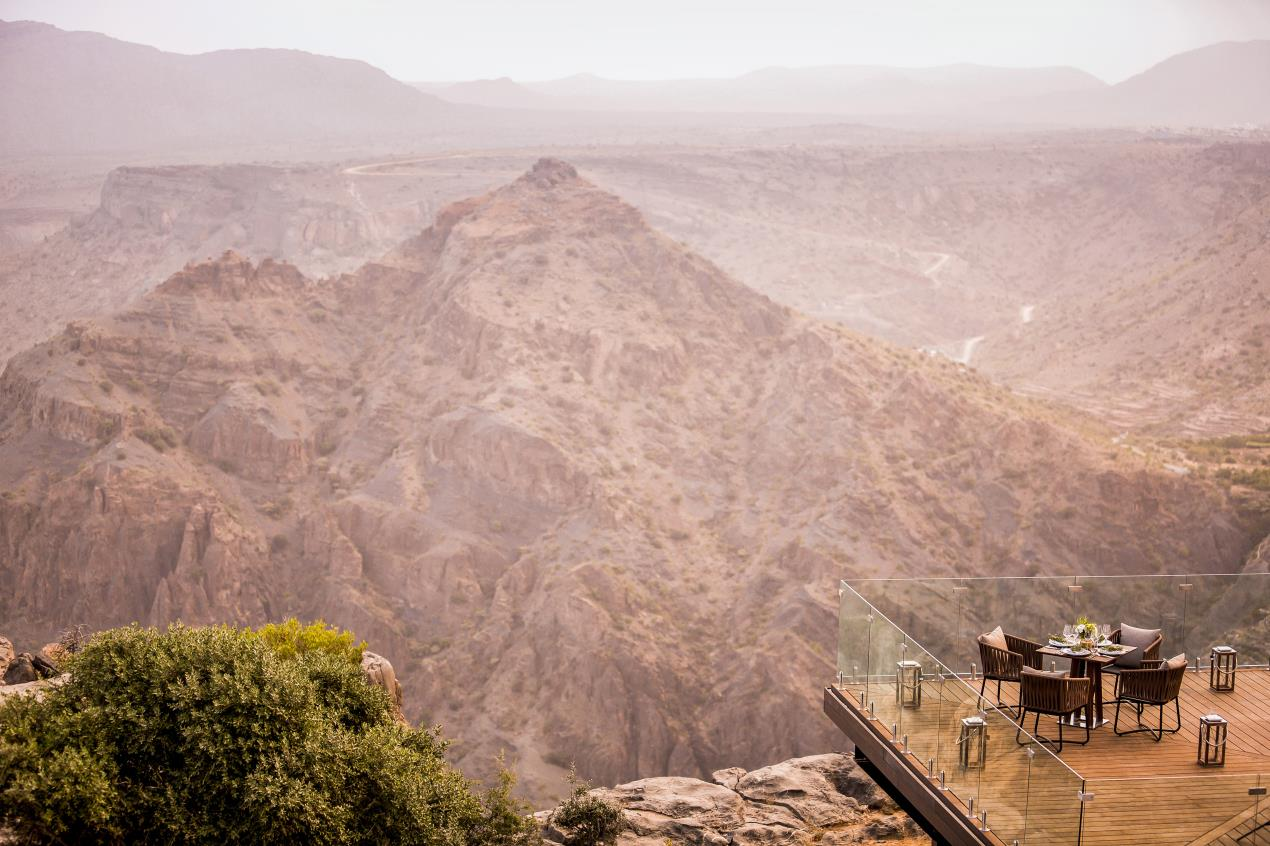 Anantara Al Jabal Al Akhdar Resort - Dining By Design - Diana's Point 01