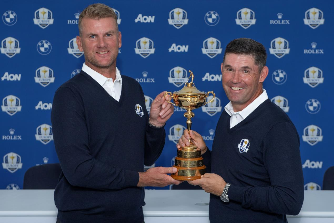 Robert Karlsson and Padraig Harrington