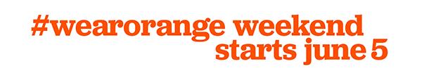 Wear Orange June 5th