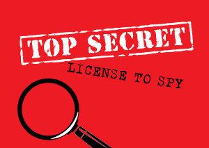 Image result for top secret license to spy