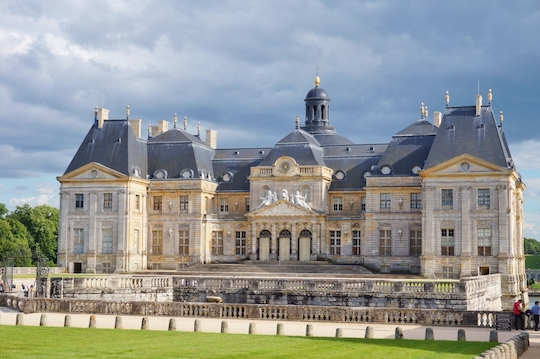 Chateau Louis XIV castle