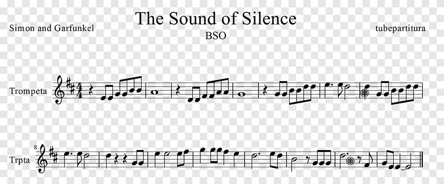 Âm thanh của sự im lặng Âm thanh của sự im lặng Simon & Garfunkel Lời bài hát, bản nhạc, amp, góc png