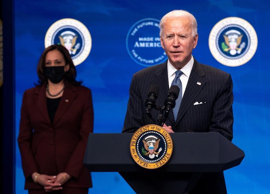 Régimen, Biden, Harris