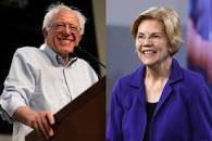Image result for picture of bernie sanders and other democratic candidates today