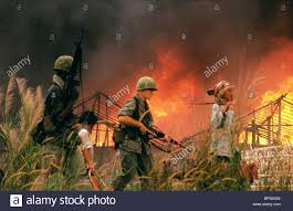 Image result for an lao valley vietnam burning huts