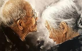 Image result for hình ảnh cha mẹ già trông ngóng con