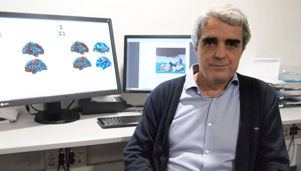 El doctor Pujol, del hospital del Mar, que ha liderado la investigación sobre el cerebro de los psicópatas