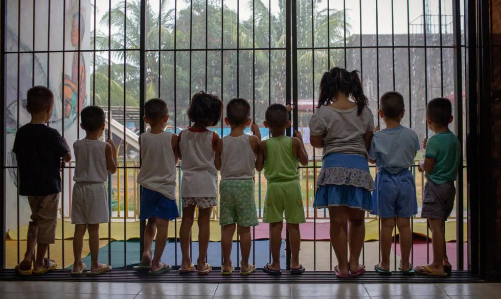 El centro Heaven, en el que viven decenas de niños rescatados del abuso y el abandono.