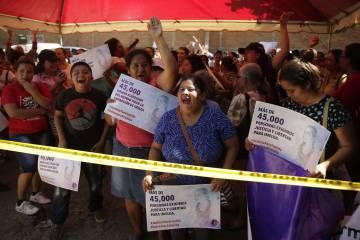 Organizaciones de mujeres se manifiestan en apoyo a Imelda Córtez este lunes