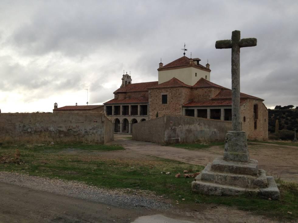 Santuario de Valdejimena, en la provincia de Salamanca, donde reside desde 2011 el religioso benedictino Francisco Carreras, acusado de abusos.