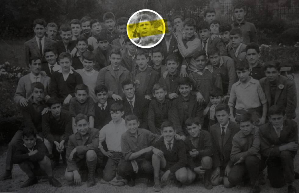 Compañeros de la generación del 60-67 de José Muñiz, supuesta víctima de abusos sexuales en el colegio salesiano de Deusto (Bilbao).
