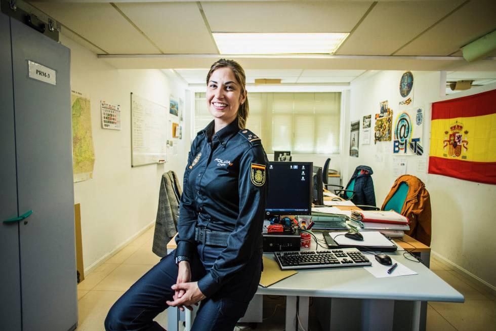 La inspectora Cecilia Carrión Tapia.