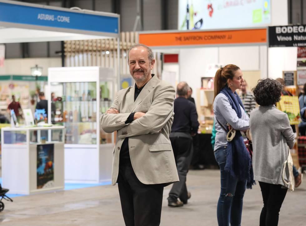 Nicolás Olea, en la pasada edición de Biocultura