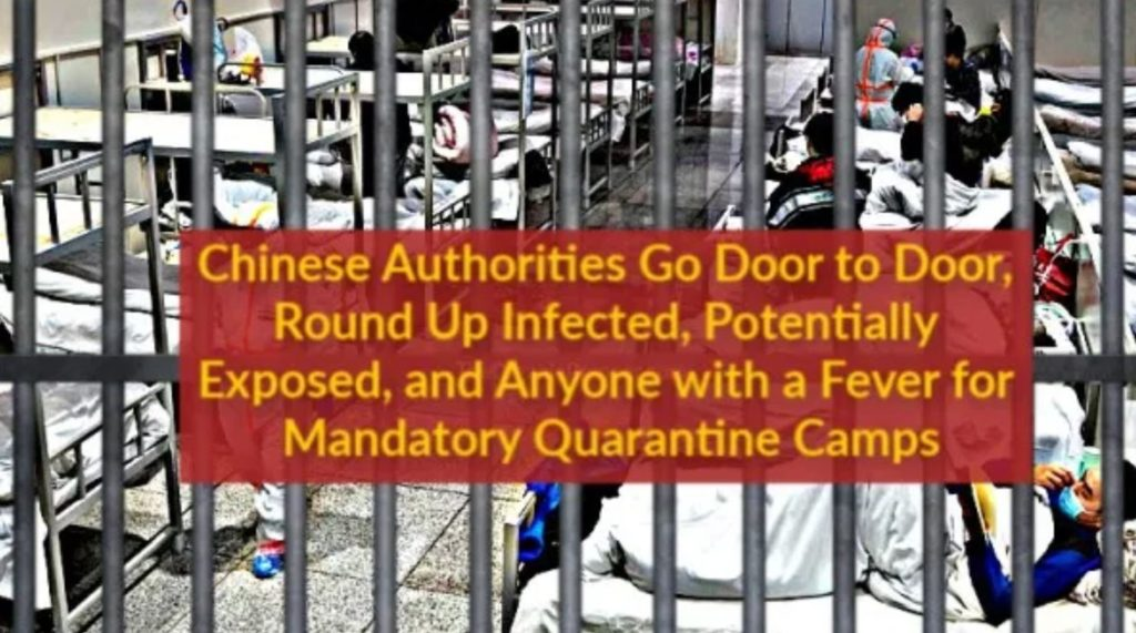 New Claims: Chinese Authorities Going Door to Door, Dragging People to MANDATORY Quarantine ...