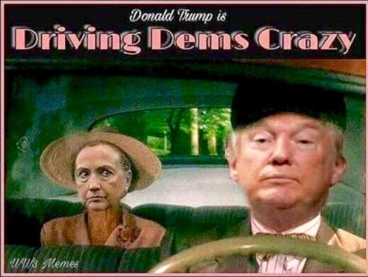 President Trump driving Dems crazy making America Great Again! | Christian Hope | Pinterest ...