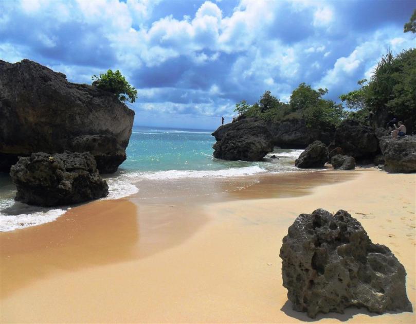 Schönster Strand auf Bali: Padang-Padang im Süden