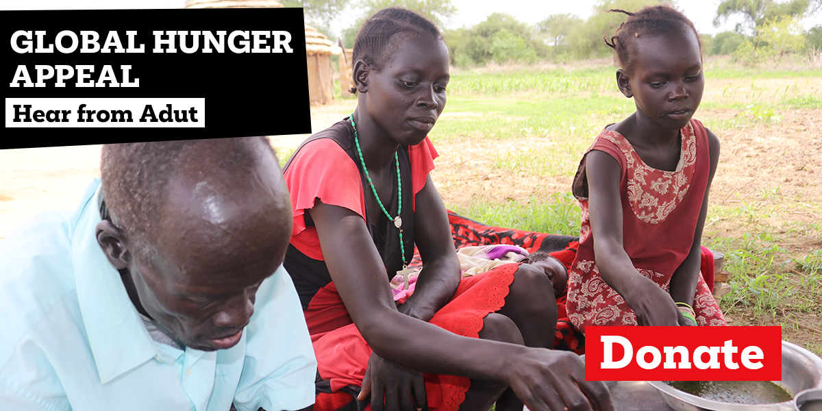 Global Hunger Appeal - Hear from Adut