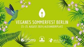 Webbanner des Veganen Sommerfests Berlin