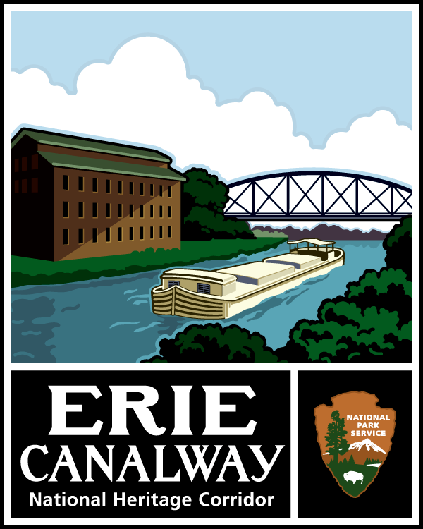 Erie Canalway Logo- complete