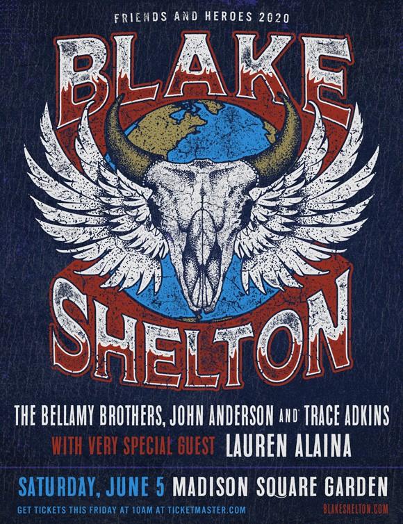 Blake Shelton's 2020 Tour
