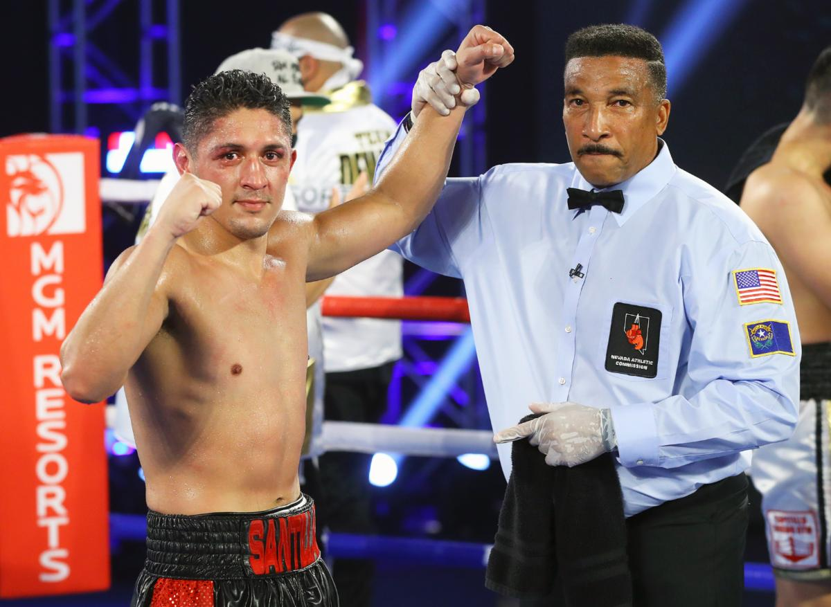 Giovani Santillan Remains Perfect With Majority Decision Over Former World Champion Antonio DeMarco