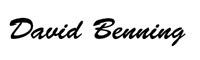 David Benning Signature
