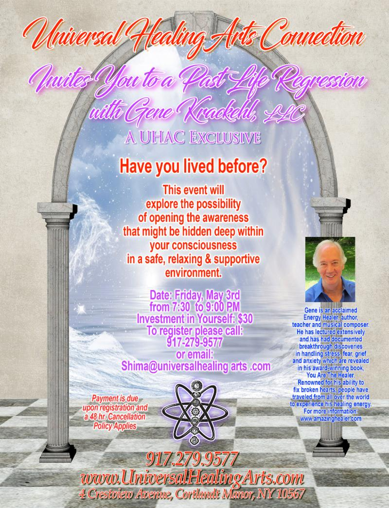 Interested in Past Life Regression?