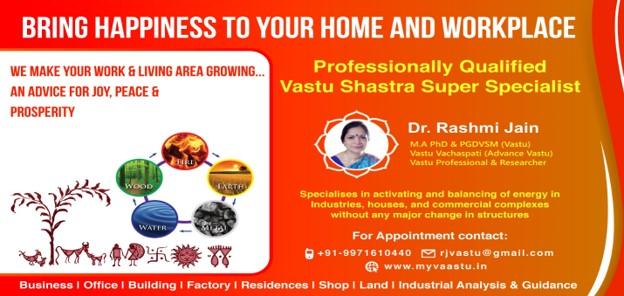 Vaastu Specialist Dr. Rashmi Jain