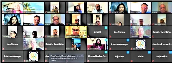 GOPIO Webinar with Amb. Sanddep Chakravorty
