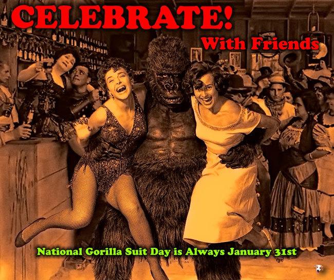 GorillaSuitDayGals