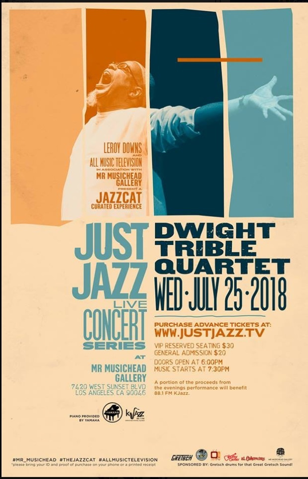 DT Just Jazz poster