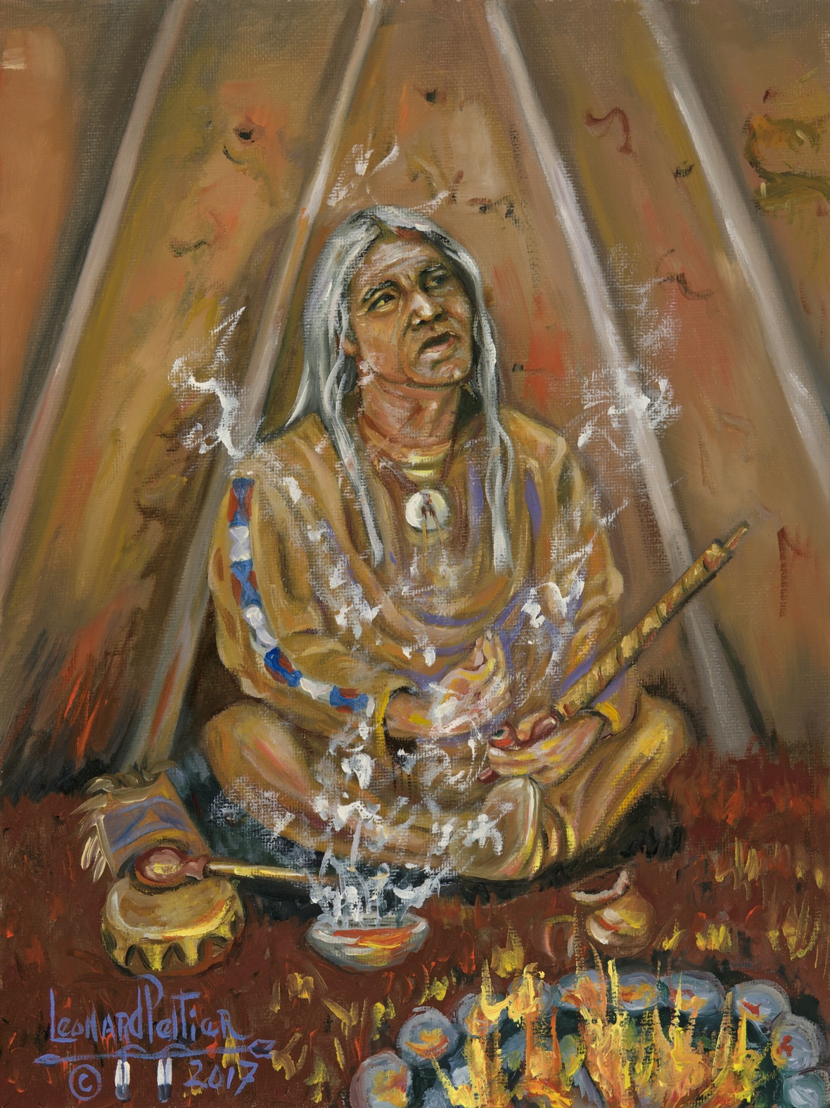 Filling Chunupa For Prayers