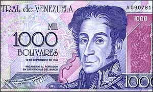 Image result for venezuela currency pictures