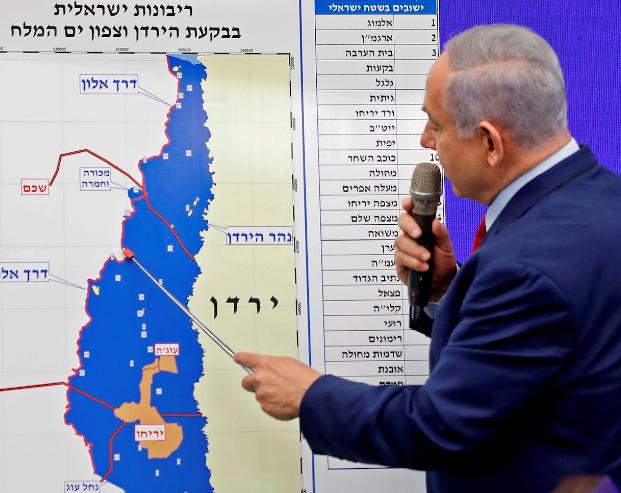 annexation-Netanyahu-map