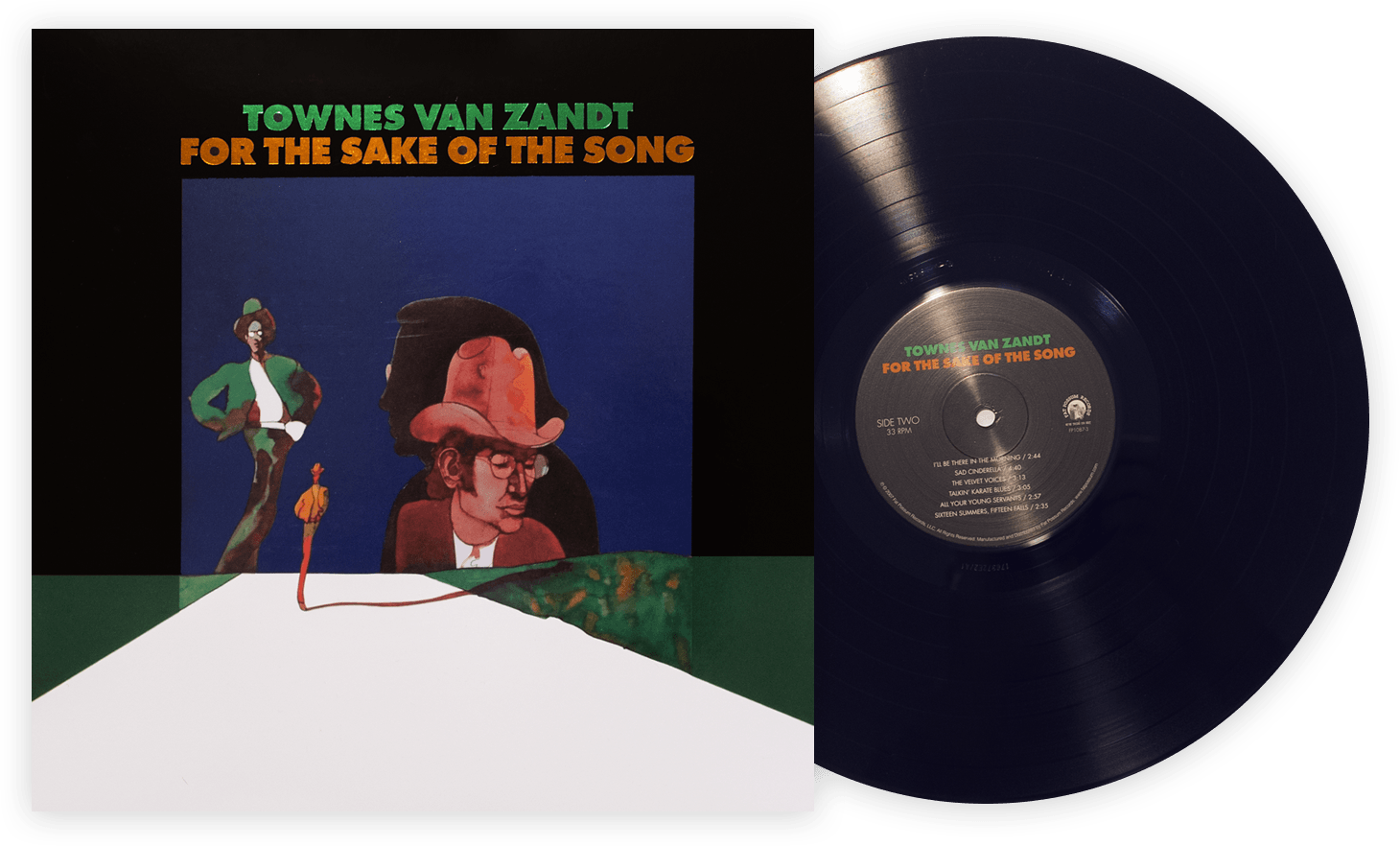 Townes Van Zandt-50th anniversary 'For The Sake Of The Song