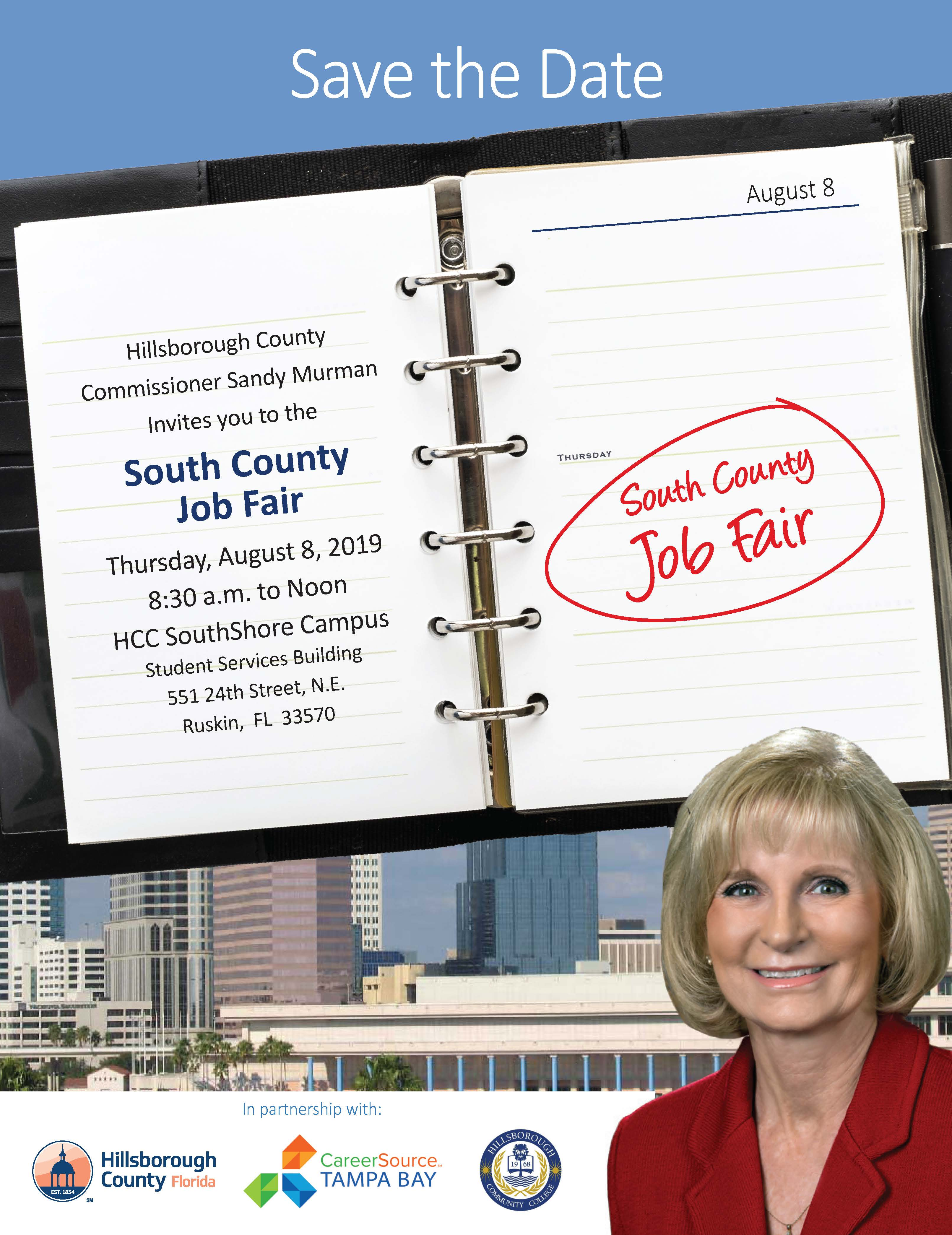 South County Job Fair in Ruskin @ HCC SouthShore Campus