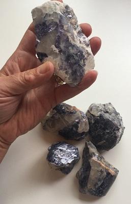 Lepidolite with Pegmatite
