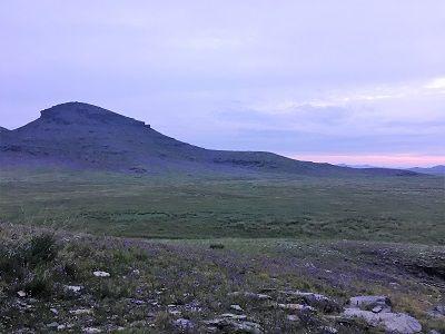 Purple Hills of Mongolia