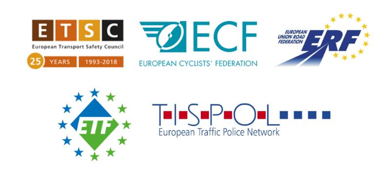ETSC - ECF - ERF - ETF - TISPOL