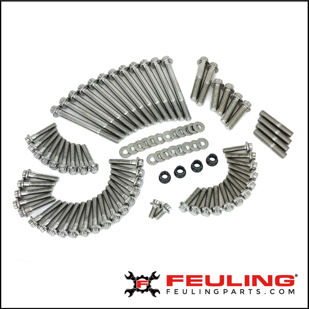 12 POINT STAINLESS STEEL HARDWARE KITS
