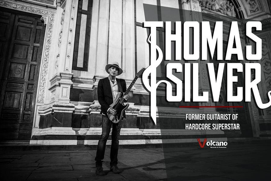 前 Hardcore Superstar 吉他手 Thomas Silver 釋出個人單曲與專輯資訊 1