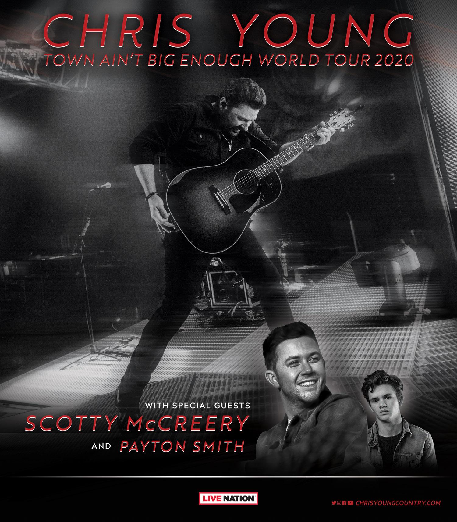 Chris Young 2020 Tour