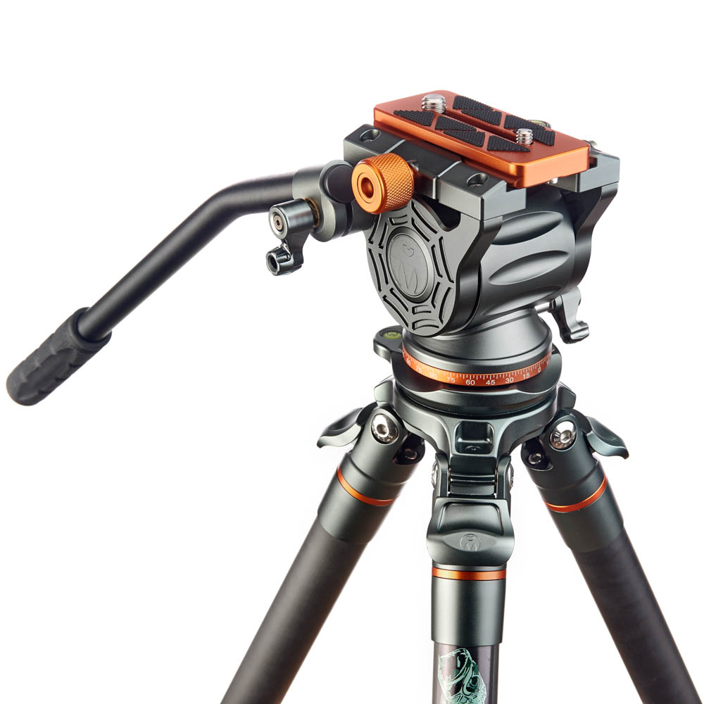 Legends Jay Levelling Base Travel Tripod Kit with AirHed Cine