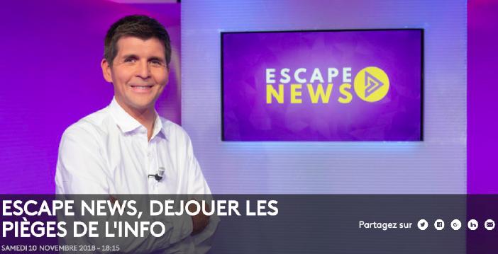 Découvrez Escape News