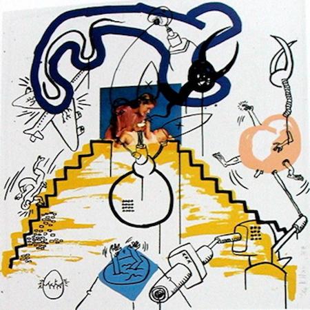 Keith Haring Apocalypse 3