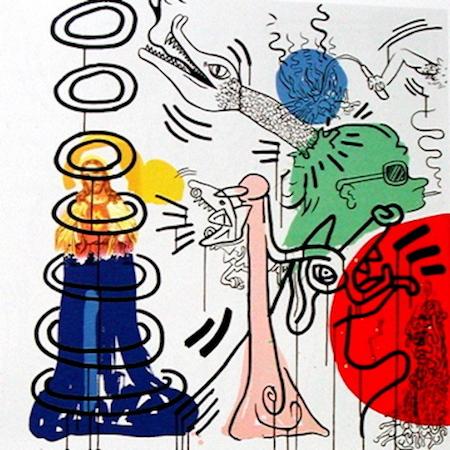 Keith Haring Apocalypse 5