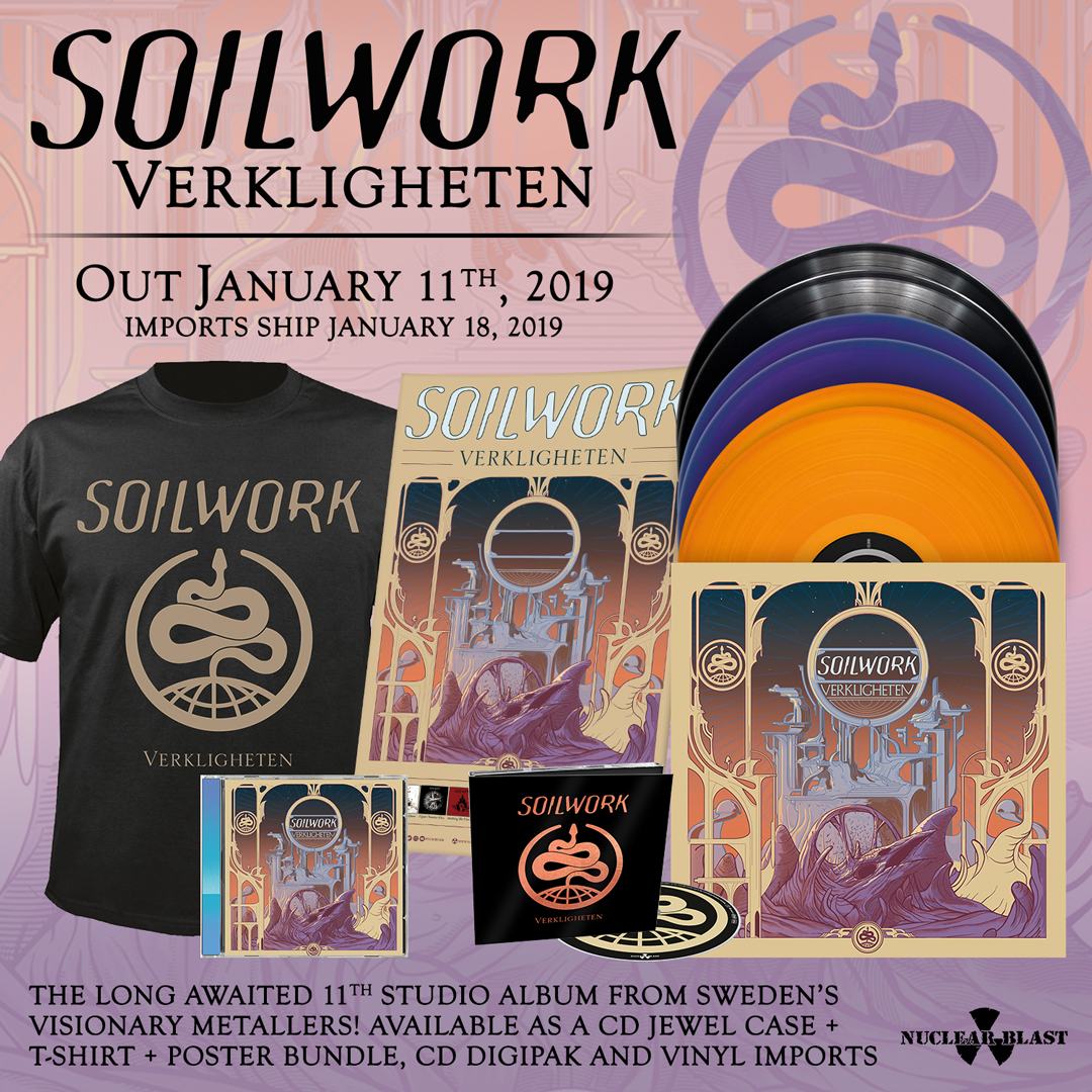 Soilwork Release Brand New Song Amp Announce New Album