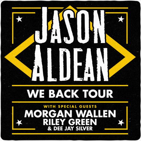 Jason Aldean 2020 Tour